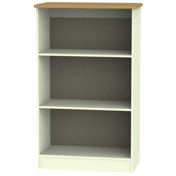 Avalon Cream & Oak Bookcase