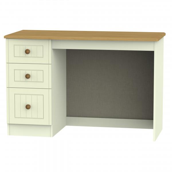Avalon Cream & Oak Desk