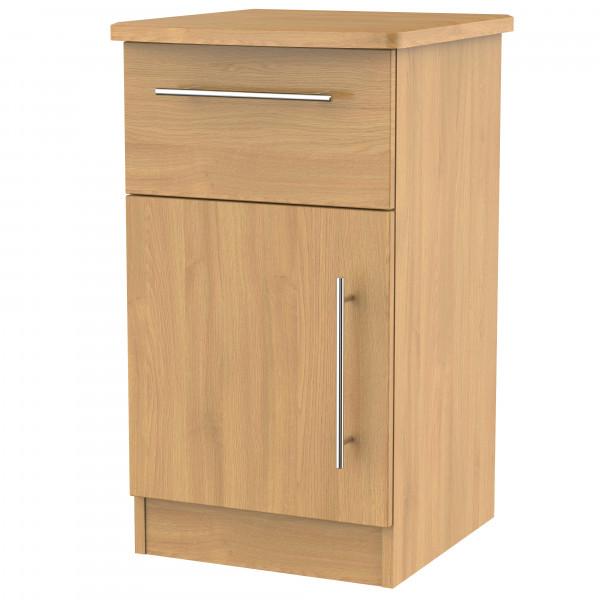 Style Oak Bedside Locker