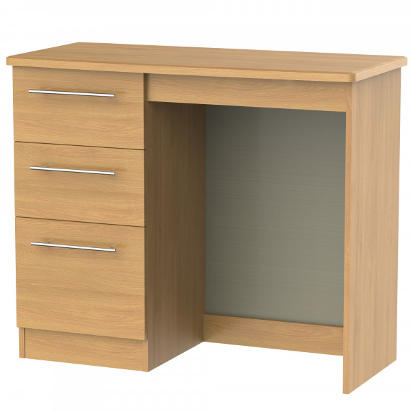 Style Oak 3 Drawer Vanity