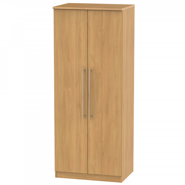 Style Oak 2 Door Wardrobe