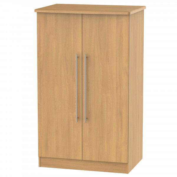 Style Oak 2 Door Midi Wardrobe