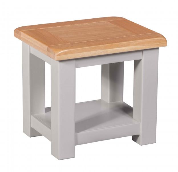 Starlight Grey Lamp Table