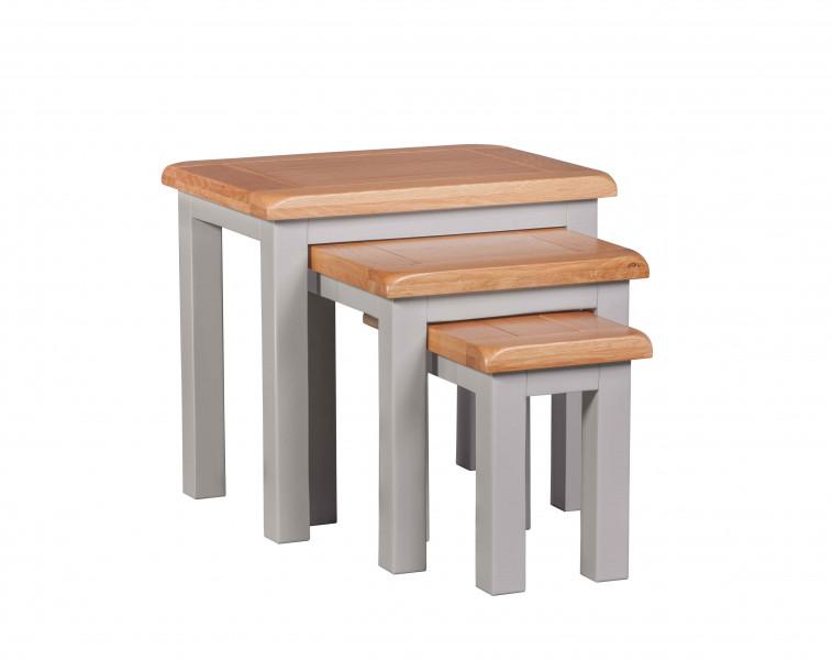 Starlight Grey Nest of Tables