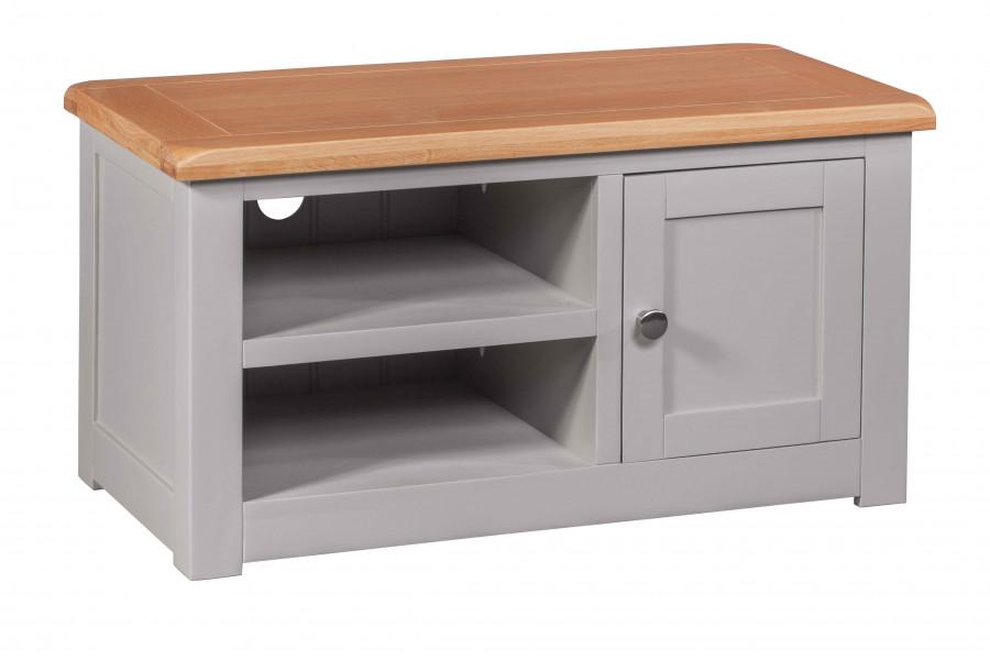 Starlight Grey 1 Door TV Cabinet