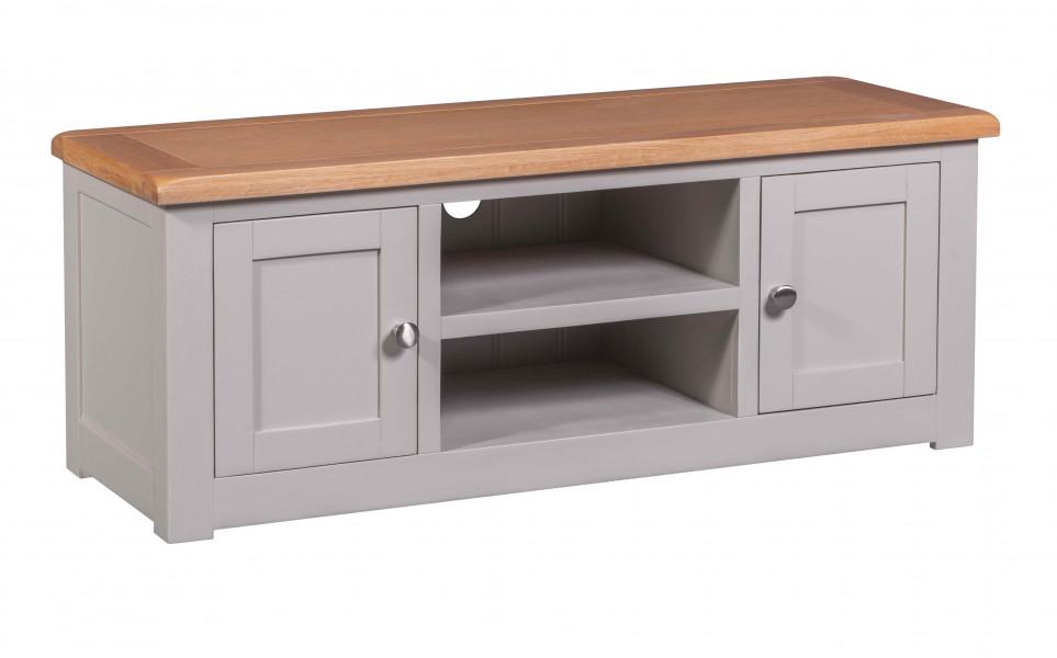 Starlight Grey 2 Door TV Cabinet
