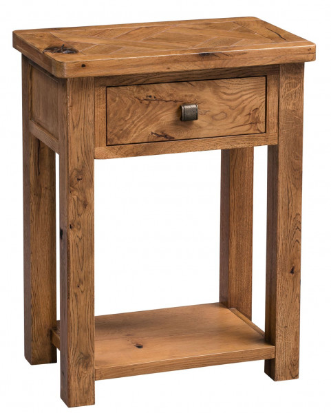 Aztec Oak Small Hall Table
