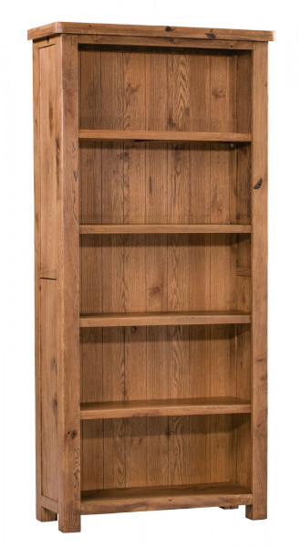 Aztec Oak Large Bookcase