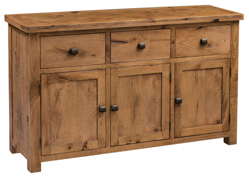 Aztec Oak Large Sideboard