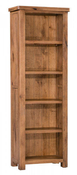 Aztec Oak Slim Bookcase