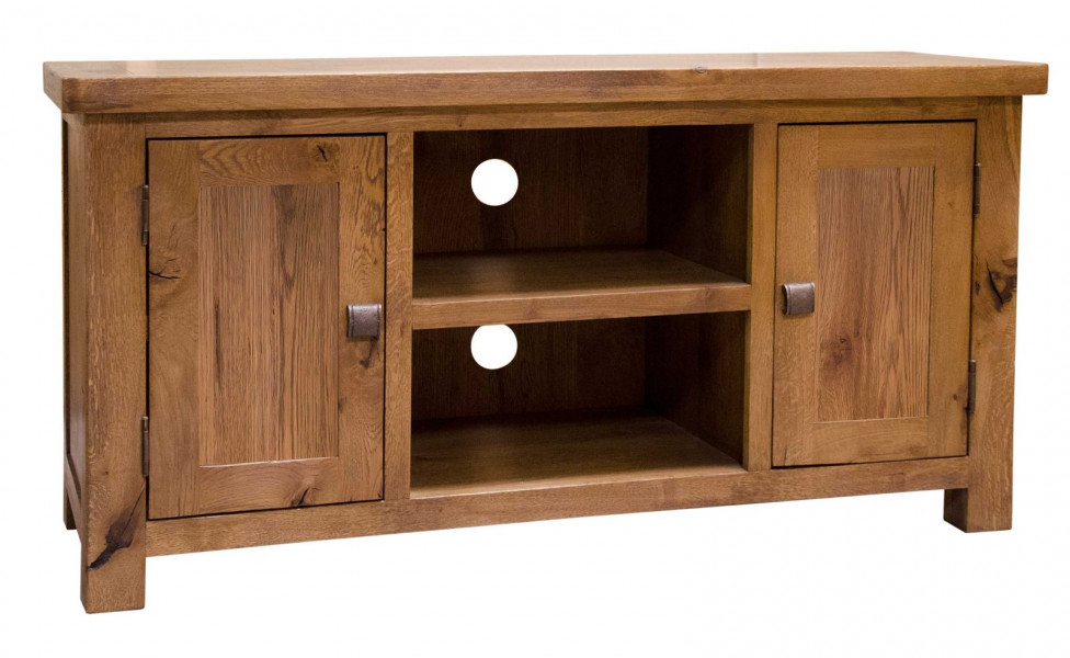 Aztec Oak TV Cabinet