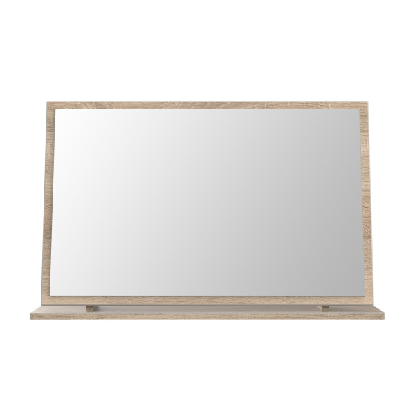 London Light Oak Large Mirror