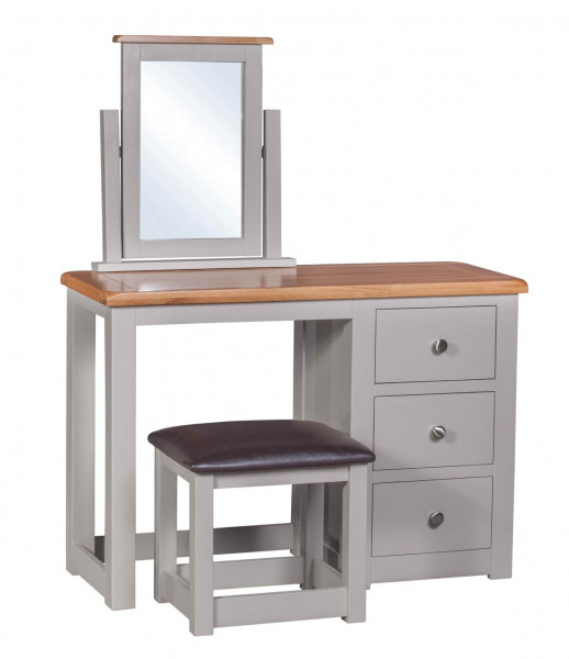 Starlight Grey Dressing Table & Stool
