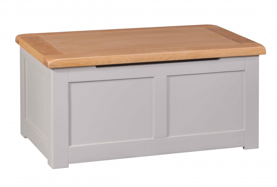 Starlight Grey Blanket Box