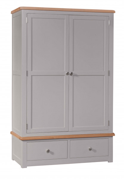 Starlight Grey Double Robe with Drawers
