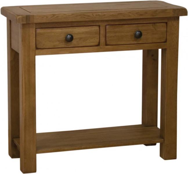 Rustic Oak Hall Table