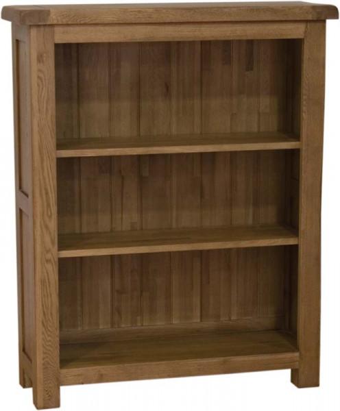 Rustic Oak Small Bookcase