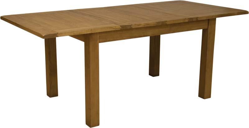 Rustic Oak Extending Table
