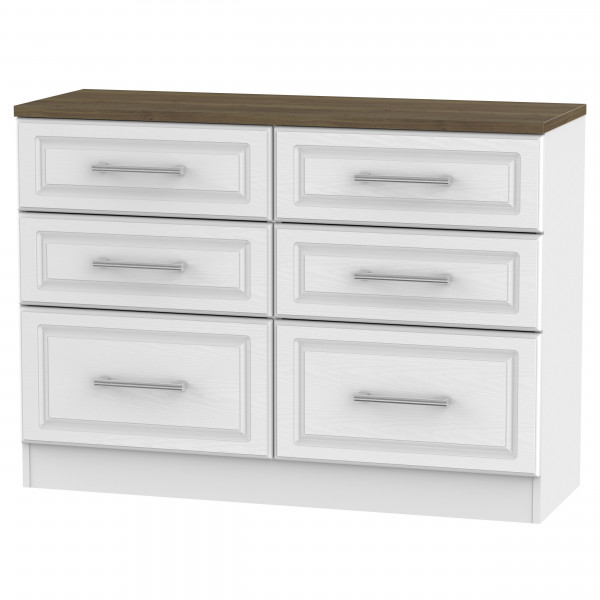 Cotswold 6 Drawer Midi Chest