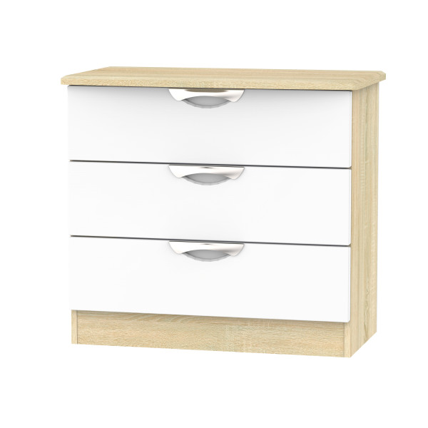 Vogue 3 Drawer Chest