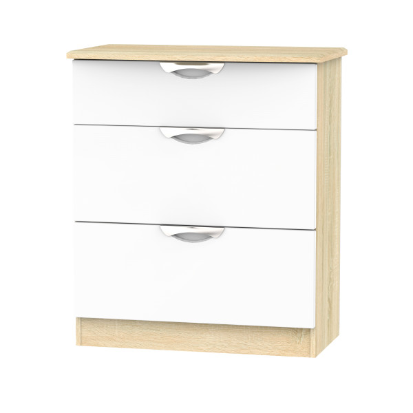 Vogue 3 Drawer Deep Chest