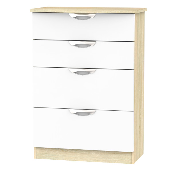 Vogue 4 Drawer Deep Chest