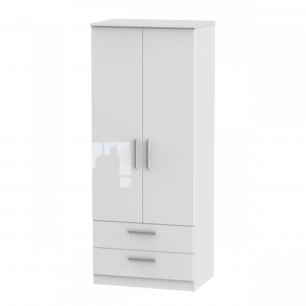 Vogue 2 Door 2 Drawer Wardrobe