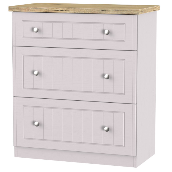 Boston 3 Drawer Deep Chest