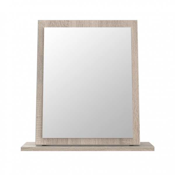 London Dark Oak Small Mirror