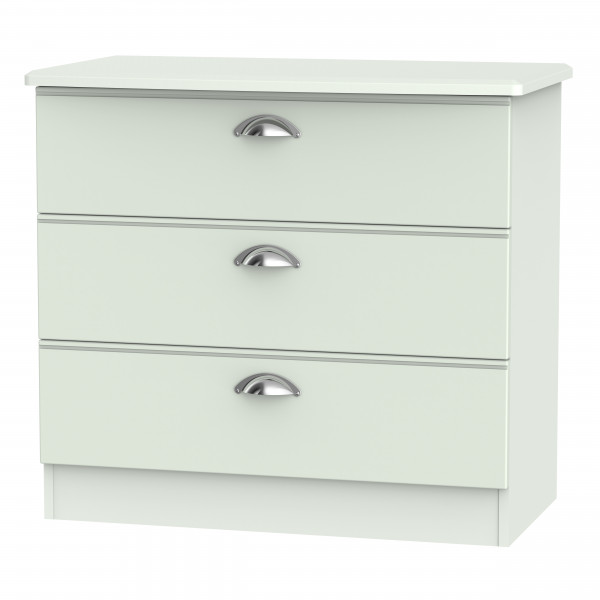 Kensington Grey 3 Drawer Chest