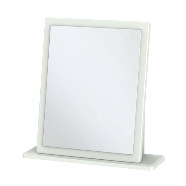 Kensington Grey Single Fixed Mirror