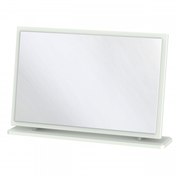 Kensington Grey Large Fixed Mirror
