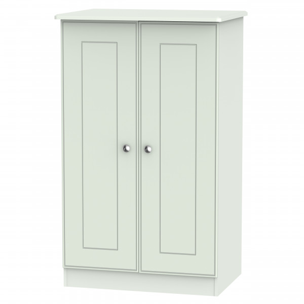 Kensington Grey 2 Door Midi Wardrobe