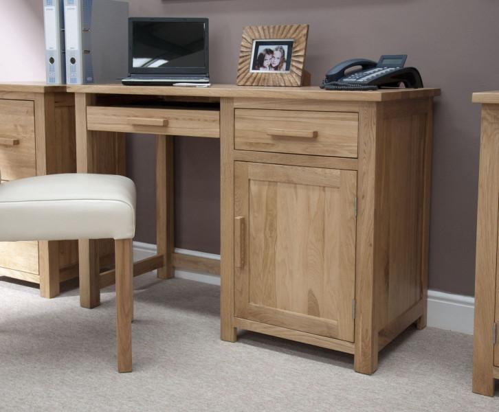 Inspire Oak Small Computer Desk