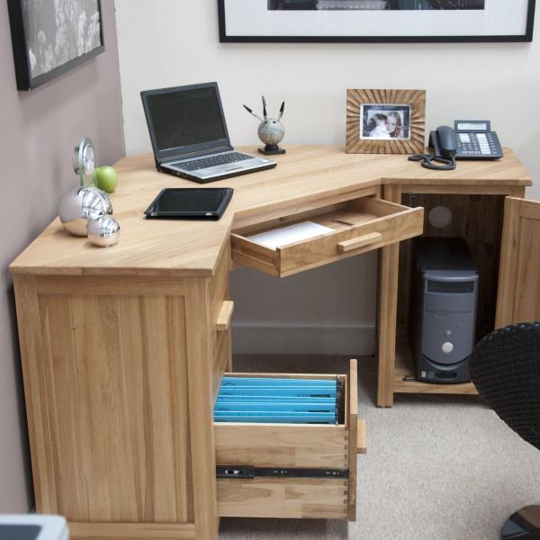 Inspire Oak Corner Computer Desk