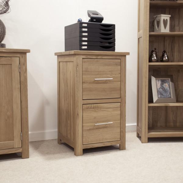 Inspire Oak Filing Cabinet