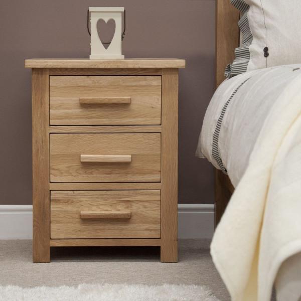 Inspire Oak Bedside
