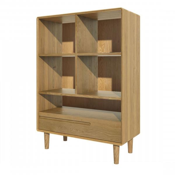 Scandic Oak Small Bookcase