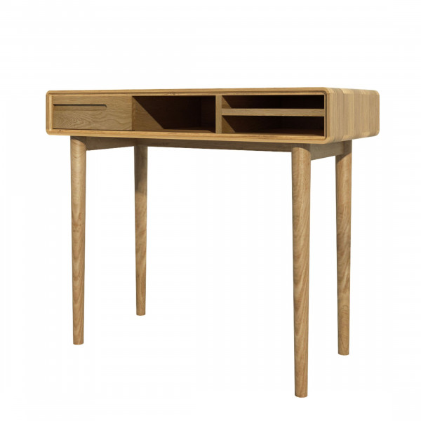 Scandic Oak Small Desk