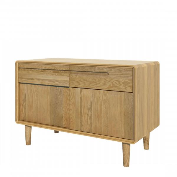 Scandic Oak Narrow Sideboard