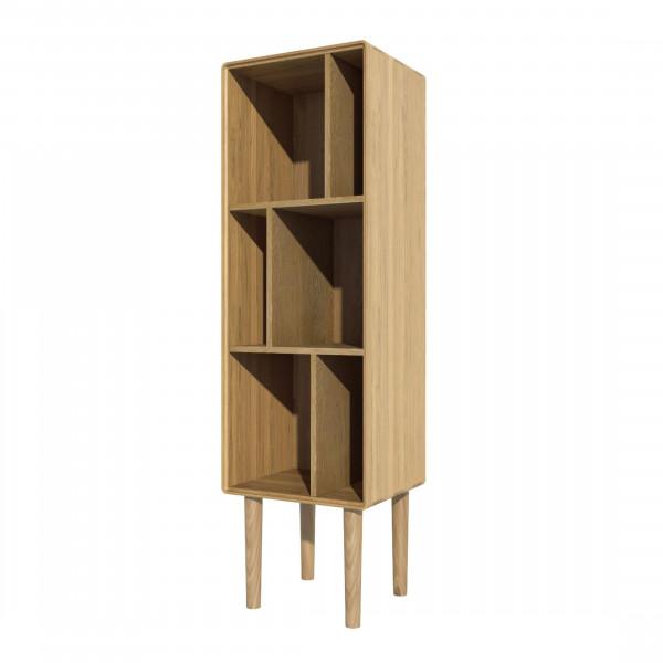 Scandic Oak Narrow Cabinet