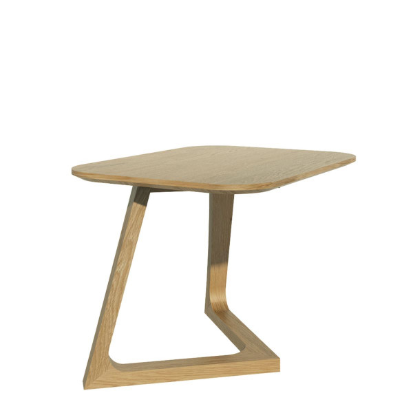 Scandic Oak V Lamp Table