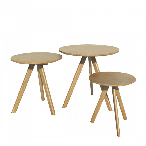 Scandic Round Nest of Tables