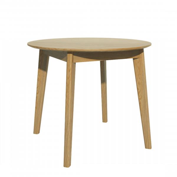 Scandic Oak Round Dining Table