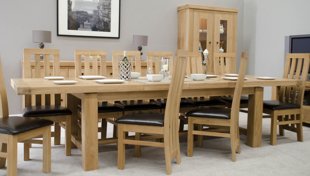 Brittany Grand Extending Table