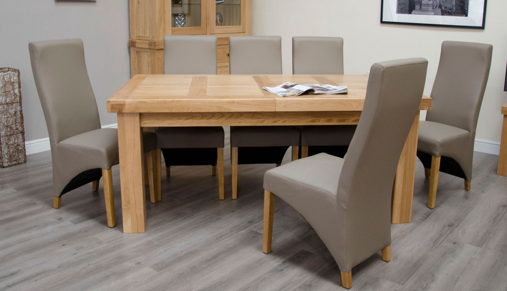 Brittany Large Extending Table