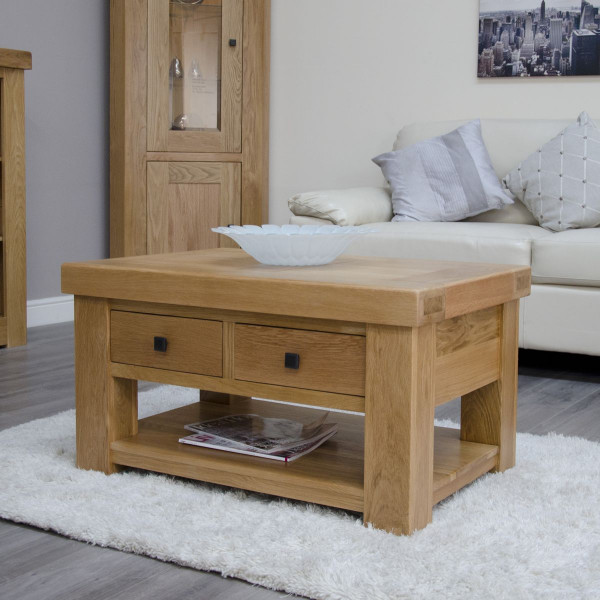 Brittany Storage Coffee Table