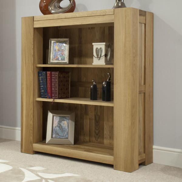Chunky Oak Small Bookcase