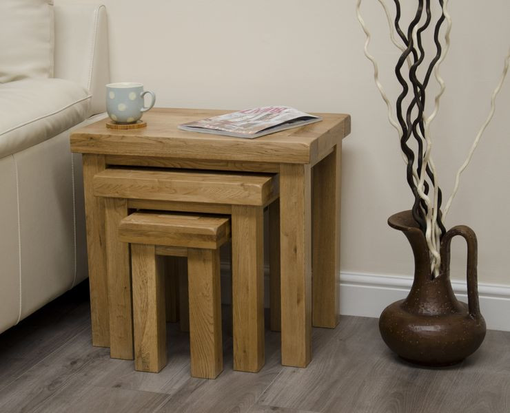 Deluxe Rustic Nest of Tables