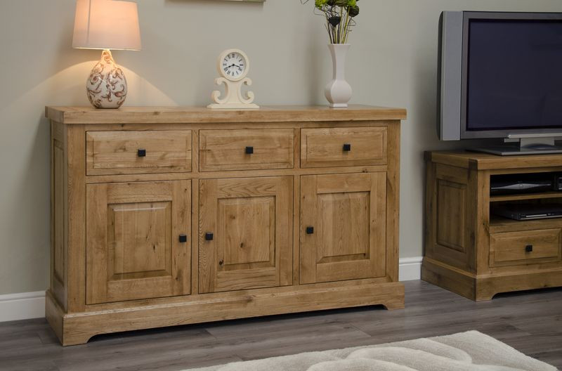 Deluxe Rustic Large Sideboard - Furniture Value